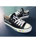 new york yankees shoes men's ny yankees sneakers baseball fashion birthd... - $55.99