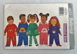 Butterick 4643 Vintage Pattern Classical Kids Size Toddlers Uncut 1996 - $14.84