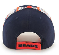 Officially Licensed NFL Carrier MVP Structured Cap by '47 Brand - Bears - $22.76
