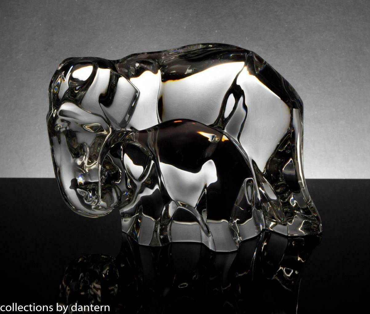 Baccarat Crystal Elephant Mother and Calf Figurine - $2,599.00
