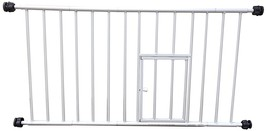 Small Pet Gate Dog Cat Fence Gates Indoor With Door Pressure Mount Child... - $20.55