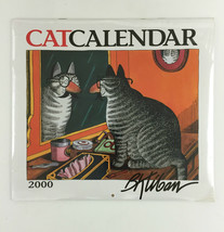 B Kliban CAT Calendar 2000 Wall size 13 x 12 - Full color - shrink Wrapped - $35.00