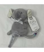Baby GANZ Rattle Emerson Elephant Ring Plush Infant Toy - $7.49