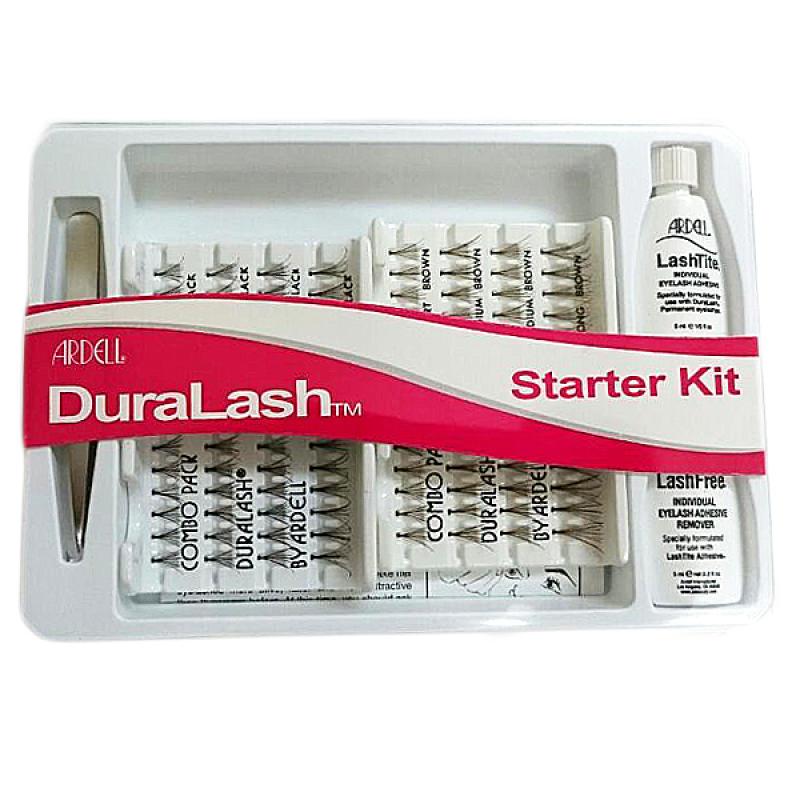 New Ardell Duralash Starter Kit Black & Brown with Tweezers & Glue - $12.99