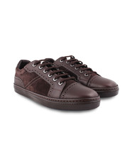 Sneakers Shoes Suede Calf Moritz Bitter up Brioni Laced Chocolate Men's zxaw0zqPf
