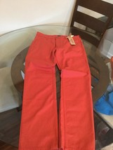 NWT Men's Levi's 511 Red Slim Fit Trouser Pants Jeans 31X30 New With Tags!!! - $34.64