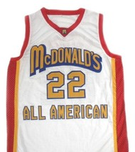 Carmelo Anthony #22 McDonald's All American Basketball Jersey White Any Size image 1