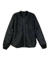 Aeropostale Mens Black Quilted Lightweight Jacket Size Medium - $24.65