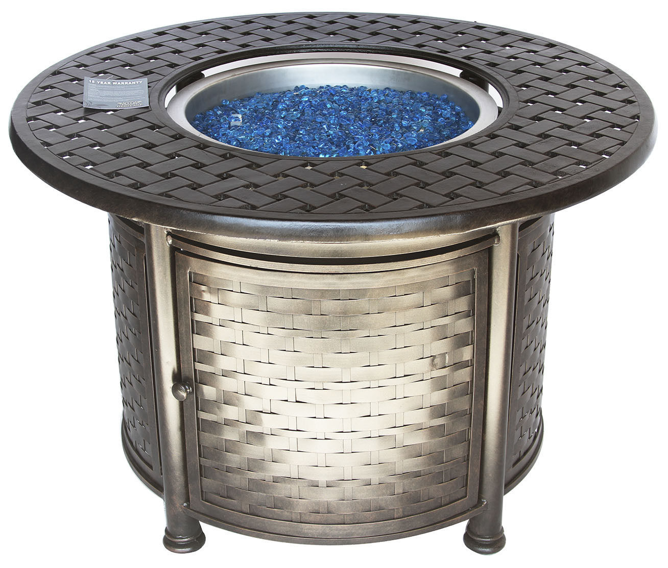 "OUTDOOR PATIO 42"" ROUND DINING FIRE TABLE - SERIES 7000"