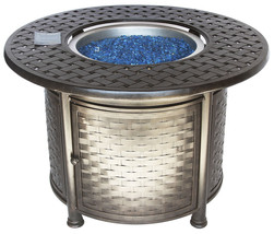 "OUTDOOR PATIO 42"" ROUND DINING FIRE TABLE - SERIES 7000 - $2,970.00"