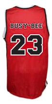 Busy-Bee #23 Sunset Park Movie Basketball Jersey New Sewn Red Any Size image 2