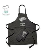 Premium Quality Dinner is Coming Game of Thrones Inspired Apron for Cook... - $55.15