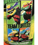 Teenage Mutant Ninja Turtles Team Turtles Beach Towel Mickey Raph Leo Do... - $14.99