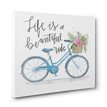 Life is a Beautiful Ride Bike CANVAS Wall Art Home Decor - ₨1,778.93 INR