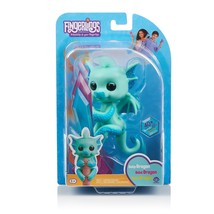 Fingerlings - Glitter Dragon - Noa (Green with Blue) - Interactive Baby ... - $19.75