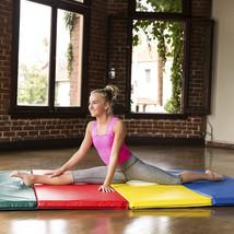 8 ft Folding Exercise Mat Gymnastics Yoga Aerobics  Portable Easy Storage - $113.80