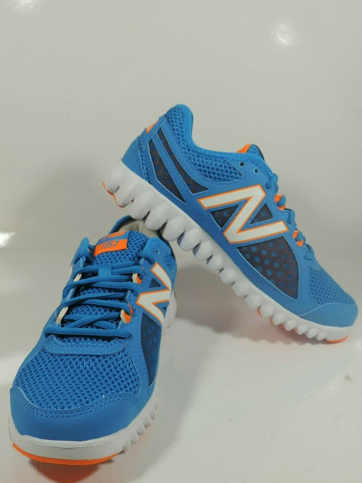 NEW BALANCE WOMENS SHOES WX1157BW SNEAKERS RUNNING BLUE WHITE SZ 6 B image 7