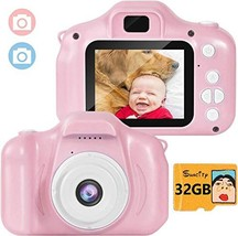 Suncity Girl Toys Gifts Kids Camera Digital for 2 3 4 5 6 7 8 Year Old Birthday