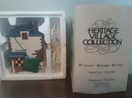 Dept 56 Walpole Tailors 5926-9 Dickens Village Series Heritage Collectio... - $29.65