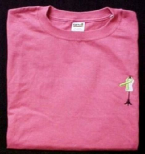 Hot Pink S/S T-Shirt 2XL Lymphoma Awareness Lime Ribbon Dress Form Dressmaker