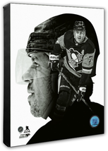 Evgeni Malkin PROfile Pittsburgh Penguins -16x20 Photo on Stretched Canvas - $94.95