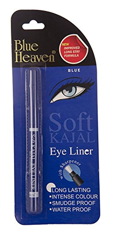 Blue Heaven Soft Kajal Eyeliner, Blue, 0.31g - $12.89