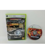 Midnight Club Los Angeles Disc Case Tested Working Xbox 360 Works VTG - $9.89