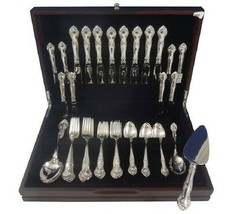 English Gadroon by Gorham Sterling Silver Flatware Set For 8 Service 43 Pieces - $1,999.00