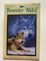 Janlynn Forever Wild Wolf Loup Counted Cross Stitch stitchery Kit - New #0130509 - $10.33