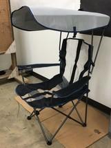 Kelsyus Original Canopy Chair, Gray/Blue (KM) - $25.00