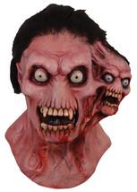 Halloween Full Moon Features Shrieker Adult Latex Deluxe Mask Haunted Ho... - $59.49