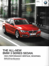 2012 BMW 3-SERIES Sedan brochure catalog US 12 328i 335i - $8.00
