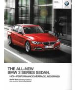 2012 BMW 3-SERIES Sedan brochure catalog US 12 328i 335i - $8.00