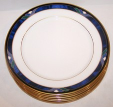 """Set Of 6 Lenox China Royal Kelly Debut Collection 6 1/2"""" Bread & Butter Plates - $54.69"""