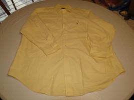 Ralph Lauren Mens  Yarmouth Oxford 17 1/2-33 long sleeve button up Shirt EUC @ - $54.44