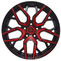 4 Gwg Nigma 18 Inch Crimson Red Rims 18x9 Fits Ford Freestyle 2005 - 2007 - $649.99