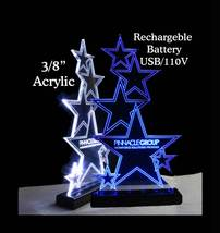 LED Rechargeable Battery operated Name Plate, Custom Sign - Award - Trophy image 5
