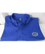Cutter & Buck Men's Blue Button Up Dress Shirt Denim Blue Size 4XT FL Ga... - $13.85
