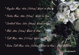 DARK GRAY Wedding Bridesmaid Tulle Skirt High Waist Gray Full Maxi Tulle Skirt image 10