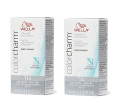 Wella-T10 Pale Blonde Permanent Hair Colour - pack of 2 - $19.95+