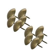 "MroMax Upholstery Nails Tacks 0.98"" Head Dia Antique Round Thumb Push Pins for F"