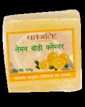 PATANJALI LEMON BODY CLEANSER/Bar Soap- (125GM) - $12.84