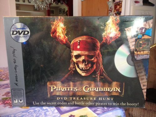 Disney PIRATES of the CARIBBEAN Interactive DVD Treasure Hunt Game Brand New