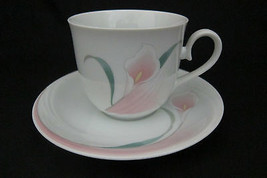 Cup and Saucer Set, Ballerina, Mauve by MSC Fin... - $3.95