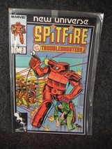 Marvel Comic Book Spitfire and The Troubleshooters 3 December 1986 Near Mint - $1.34