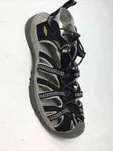 keen Whisper waterproof sandals Black Gray 7 - $28.04
