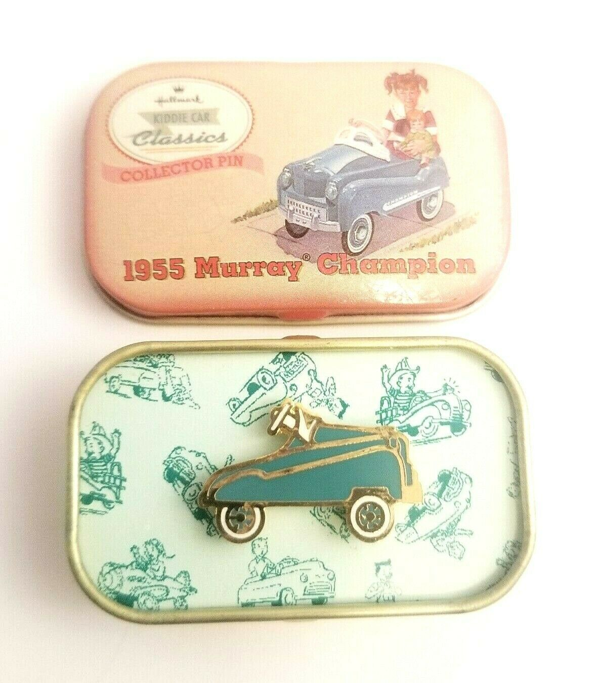 Primary image for 1999 HMK Hallmark Kiddie Car Classics Collector's Pin 1955 Murray Champion W Box