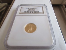 2002 , Eagle , G5$ , NGC , MS 69 , Tenth-Ounce Gold American Eagle - $475.00