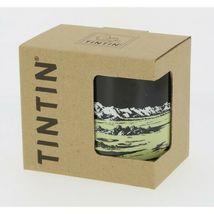 Tintin lunar Moon rocket porcelain mug in gift box Tintin image 3