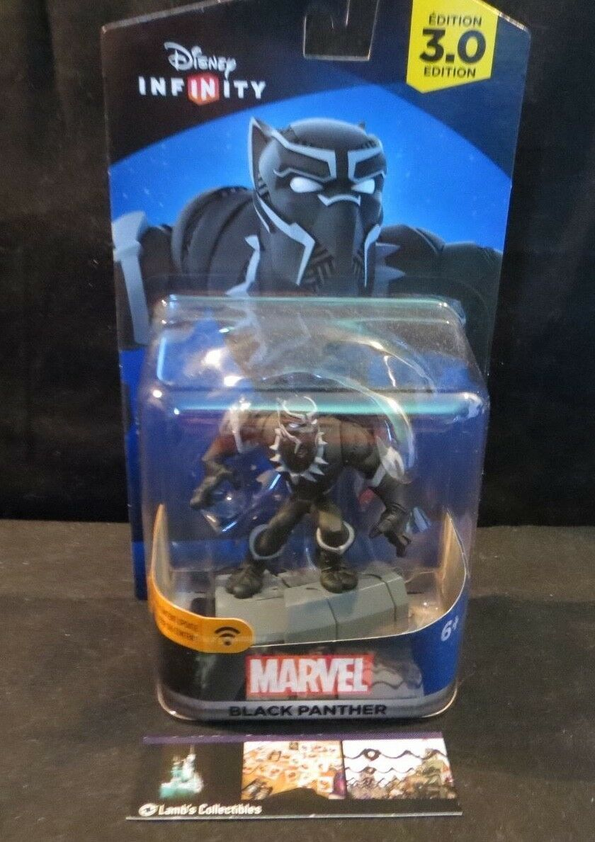 Primary image for Black Panther Disney Infinity character figure 3.0 Marvel video game accessory